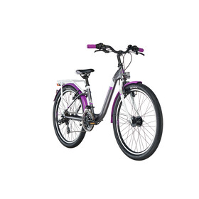 s'cool chiX 24 21-S alloy Darkgrey/Violett Matt